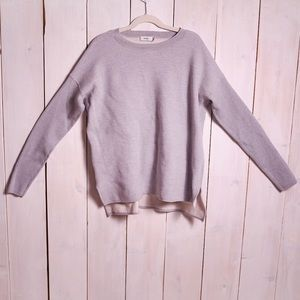 NWOT Vince Grey Knit Sweater Small